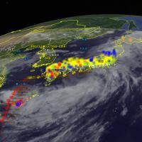 デジタル台風マップ