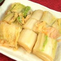 白菜醤油漬