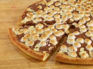チョコレートチャンクピザ