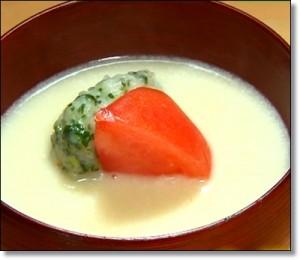 大根のポタージュスープ