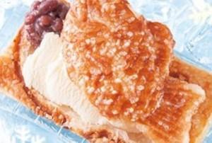 クロワッサンたい焼きアイス